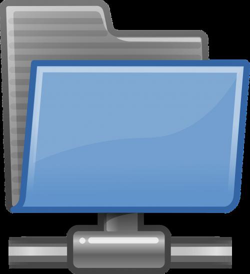 icon folder network