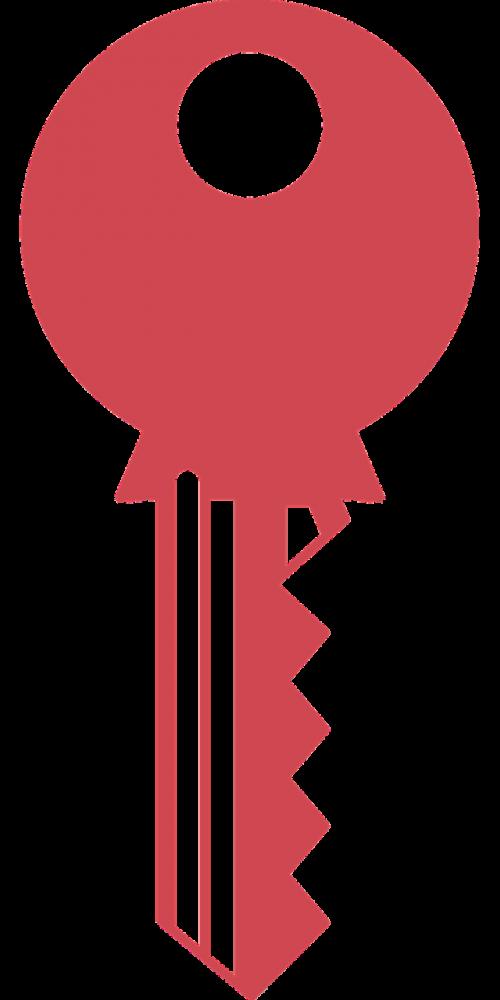 icon infographic key lock