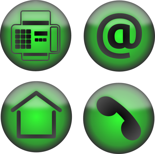 icons office contact