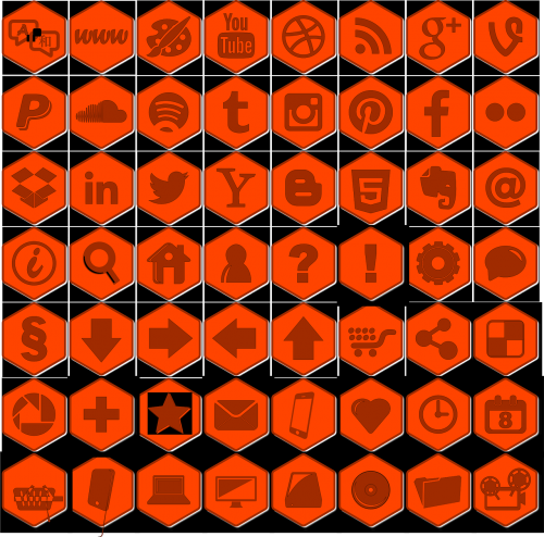 icons web icon library