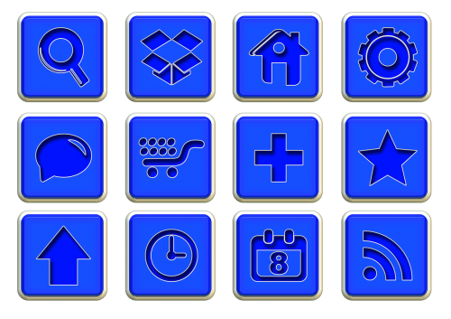 icons symbols structure