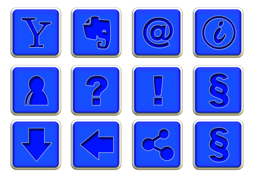 icons symbols structure