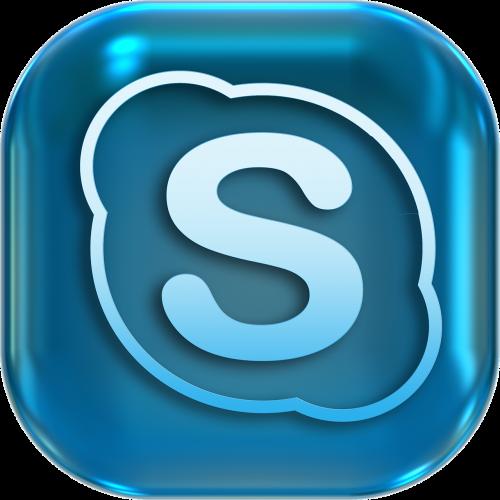 icons symbols skype