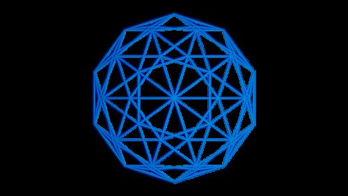 icosphere blender 2d image