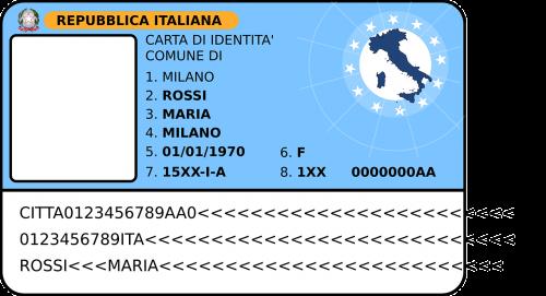 id passport italian