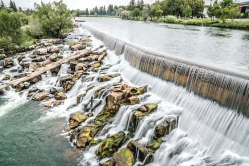 idaho falls water waterfall