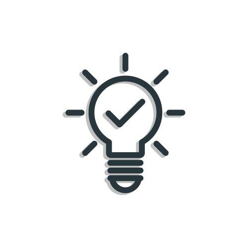 idea icon bulb
