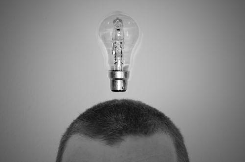 idėja, punktas, žmonės, smegenys, galva, lemputė, avatar, signalas, juoda, balta, šviesa, fonas, tapetai, mąstymas, galvoti, atvirukas, idėja