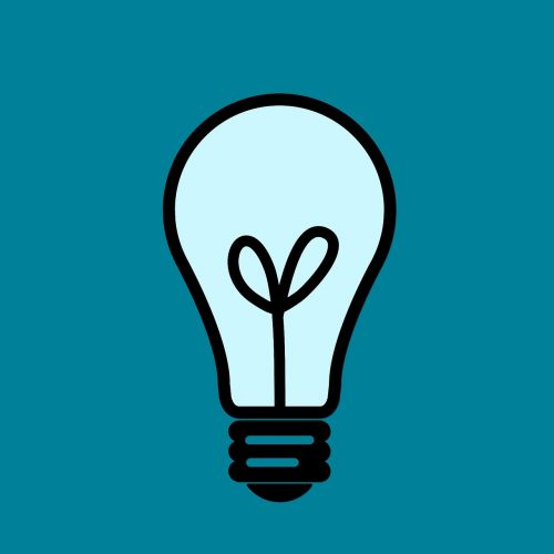 ideas light blue light