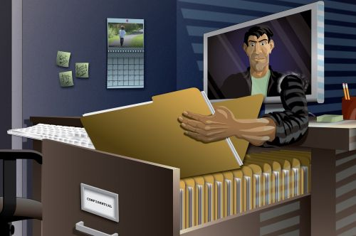 identity theft internet online