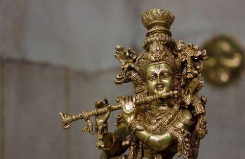 idol india lord krishna