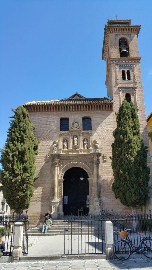 iglesia de san gil y santa ana church granada