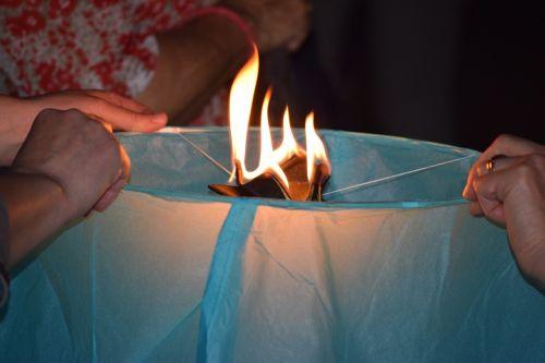 ignition burner fire