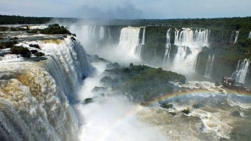 iguazu waterfalls river