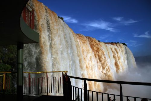 iguazu falls waterfalls brasil