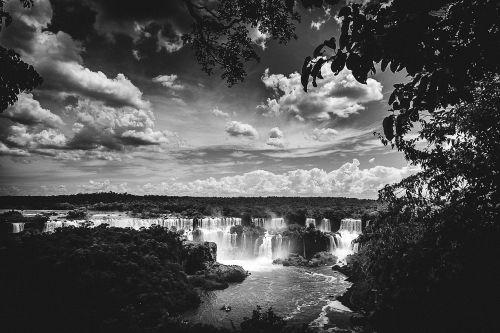 iguazu falls waterfalls landscape