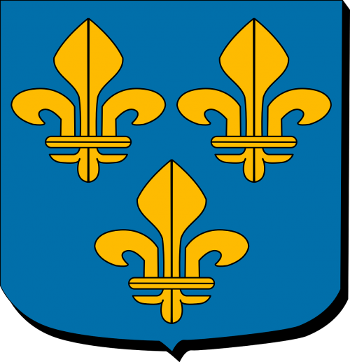 ile the france paris region coat of arms