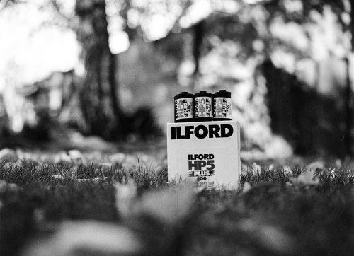 ilford film box