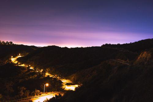 illuminate illuminated highway
