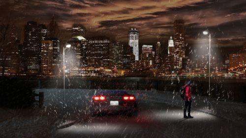 illuminated call out transportation avenue
