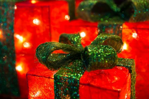 Illuminated Christmas Presents