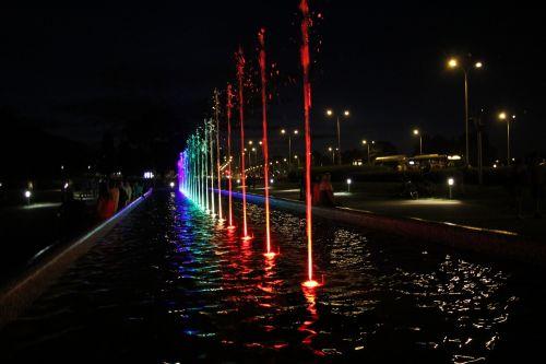 illuminations warsaw light