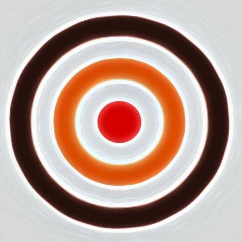 Illustrated Archery Target