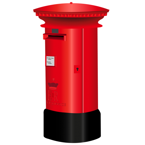 letterbox british letterbox red