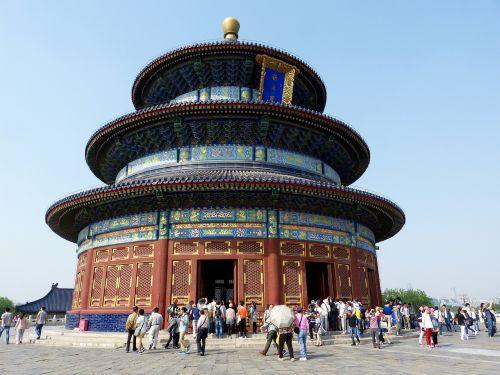 天坛 temple of heaven chinese temple