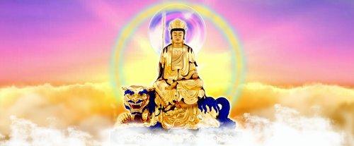 文殊师利菩萨  buddha  buddhism