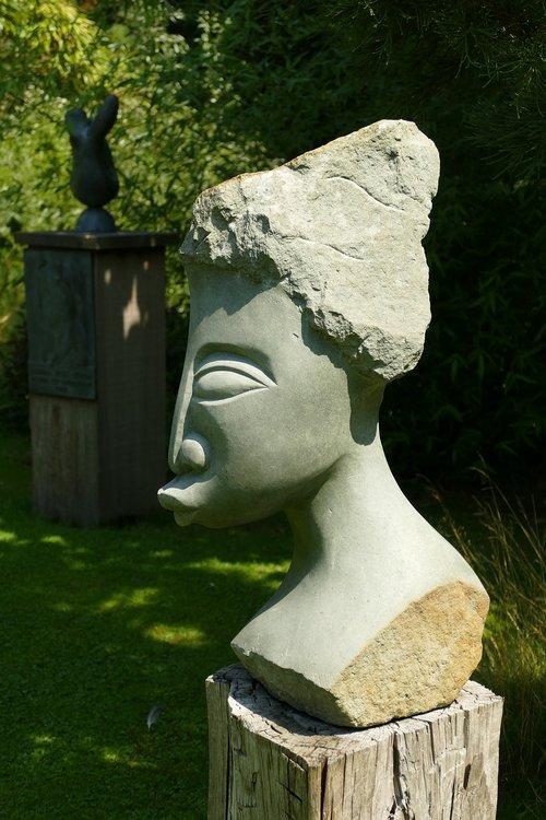 image  sculpture  head