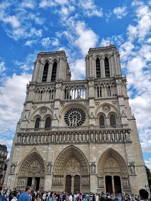 巴黎圣母院  notre dame de paris  paris