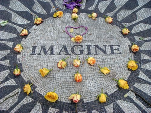 imagine john lennon new york city
