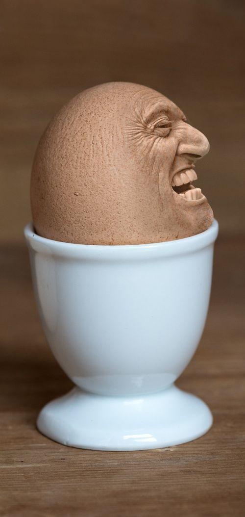 iman face egg face