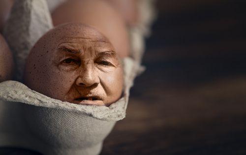 iman egg egg face