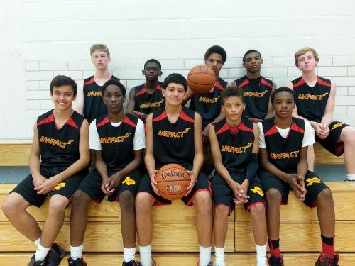basketball players young