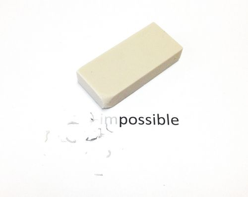 impossible possible eraser
