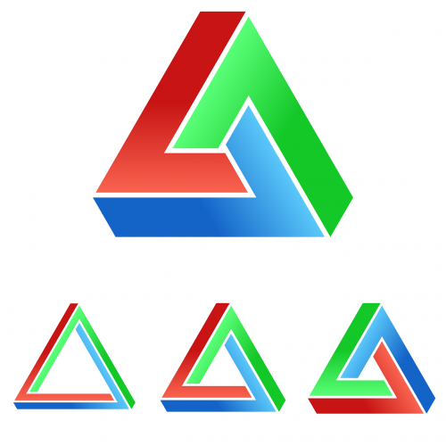 impossible penrose triangle