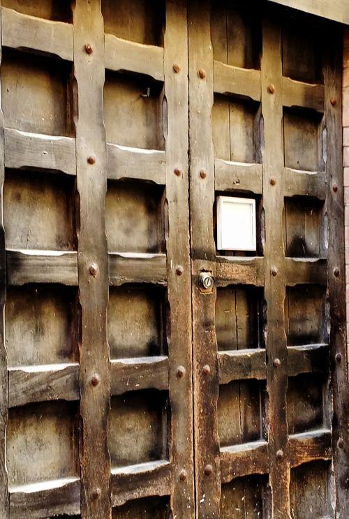 Impressionist Old Church Doors