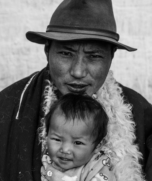 in gannan prefecture tibetans sketch