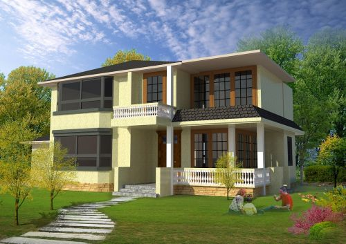 in rural areas residential design