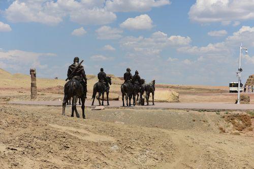 in xinjiang turpan desert