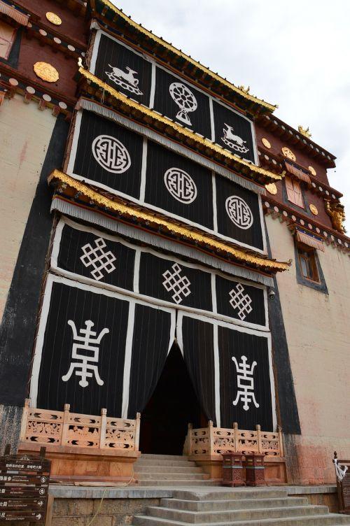 in yunnan province temple tibetan