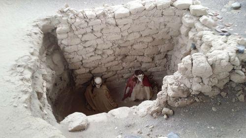 inca tomb mummies