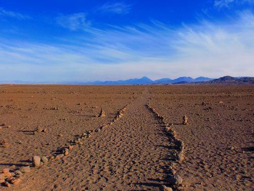 inca path desert