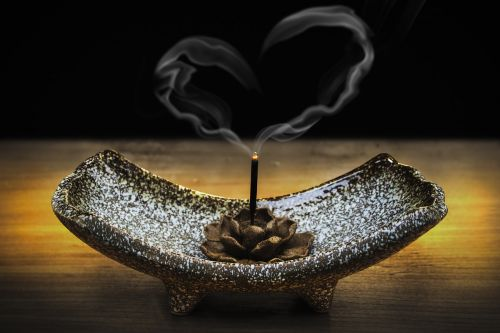 incense smoke love