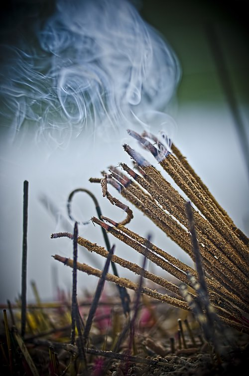 incense stick  perfume  smoke