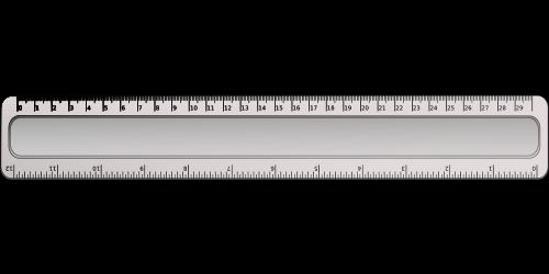 inch ruler measurement
