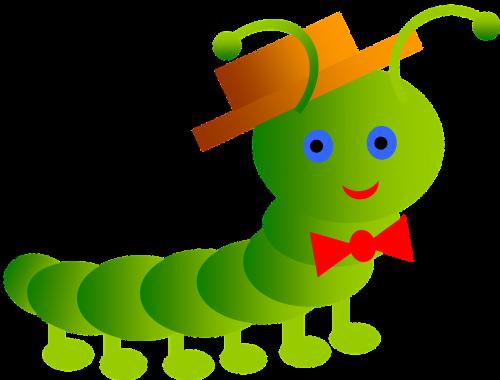 inchworm smile worm