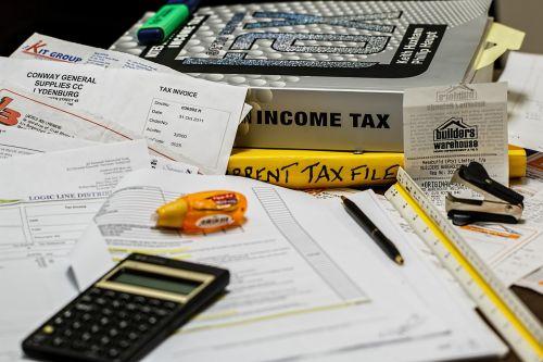 income tax calculation calculate